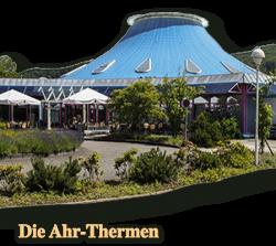Wellnesstipp des Central Hotel Bad Neuenahr, baden und saunen in den warmen Quellen der Ahr-Thermen
