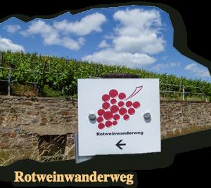 Ausflugstipps des Central Hotel Bad Neuenahr, der Rotweinwanderweg