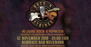 Rock n Strings am 12. November 2016
